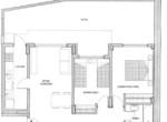 SAn Martin 1800 2 dorm patio